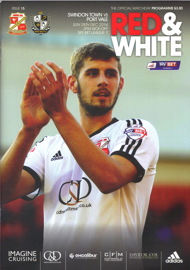 <b>Sunday, December 28, 2014</b><br />vs. Port Vale (Home)