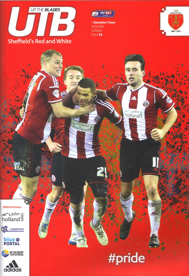 <b>Saturday, January 31, 2015</b><br />vs. Sheffield United (Away)