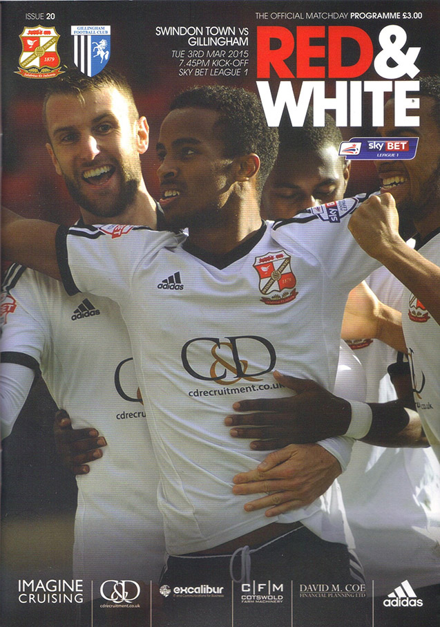 <b>Tuesday, March 3, 2015</b><br />vs. Gillingham (Home)