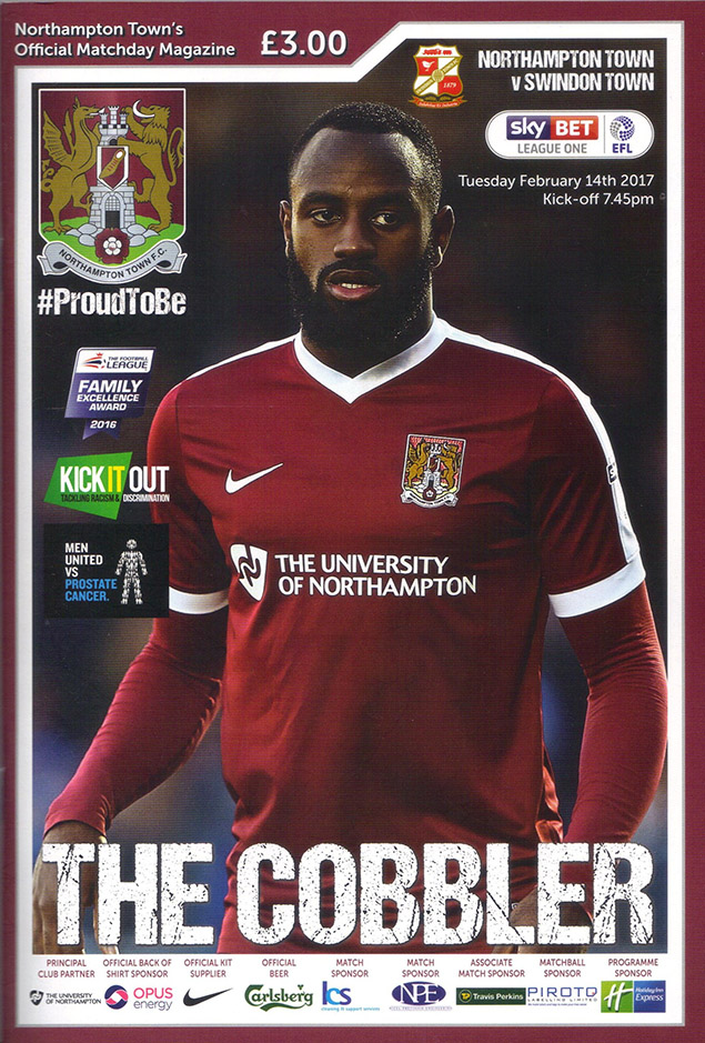 Tuesday, February 14, 2017 - vs. Northampton Town (Away)