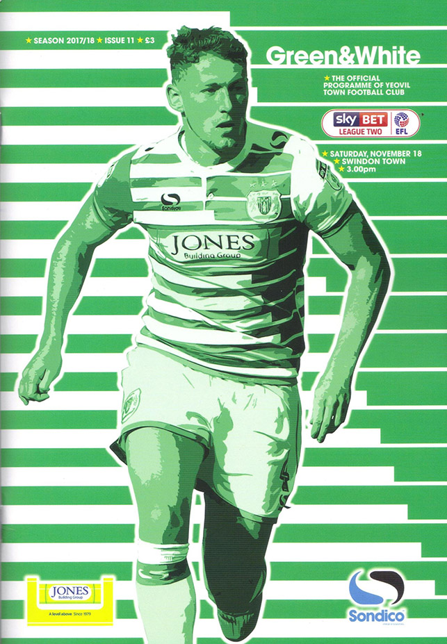<b>Saturday, November 18, 2017</b><br />vs. Yeovil Town (Away)